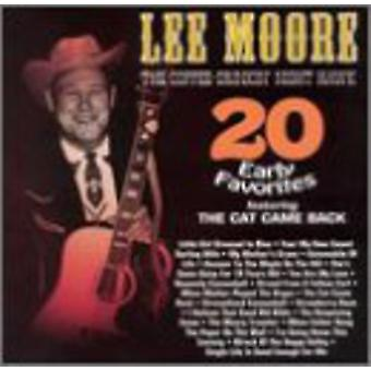 Lee Moore - 20 Early Country Favorites [CD] USA import