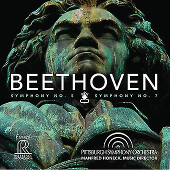 Beethoven / Pittsburgh Symphony Orchestra - Symphony Nos. 5 & 7 [SACD] USA import