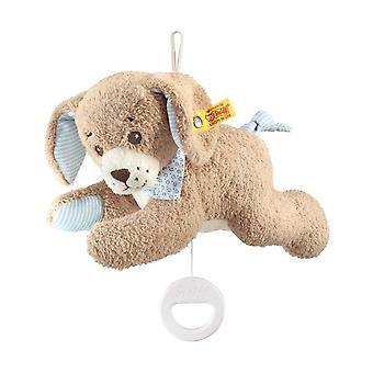 Steiff Music Hug Dog Good Night