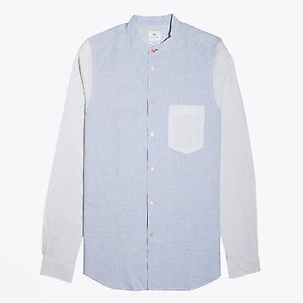 PS Paul Smith  - Gingham Check Shirt - Blue