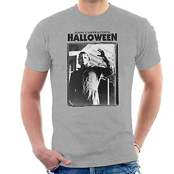 Halloween Michael Myers Portrait Men's T-Shirt