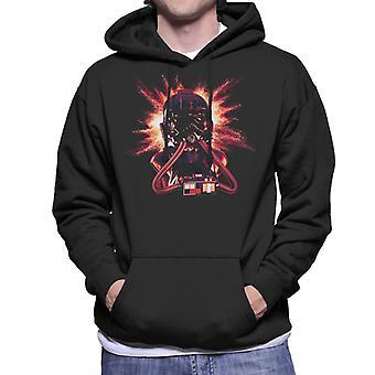 Oprindelige Stormtrooper Imperial Pilot slips hjelm eksplosion Herre Sweatshirt med hætte