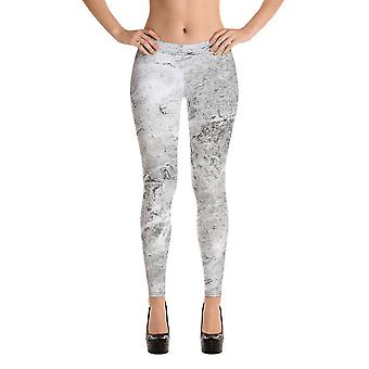 Fashion leggings | abstract in grey