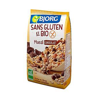 Gluten-free chocolate muesli 375 g (Chocolate)