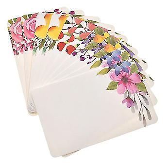 Handmade Flower Message Scrapbook Paper Card - Diy Greeting Cards, Postcards,