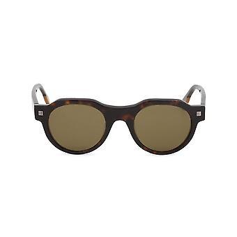 Ermenegildo Zegna - Accessories - Sunglasses - EZ0102_52J - Men - saddlebrown