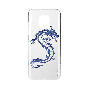 Scafo per Xiaomi Redmi Note 9 Pro Soft Blue Dragon