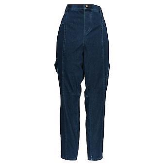 Legacy Women's Pants Denim & Twill Cargo Jeggings Blue A377858