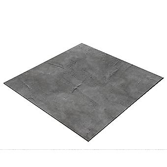 BRESSER Flatlay Sfondo per posa immagini 60x60cm cemento aspetto grigio scuro