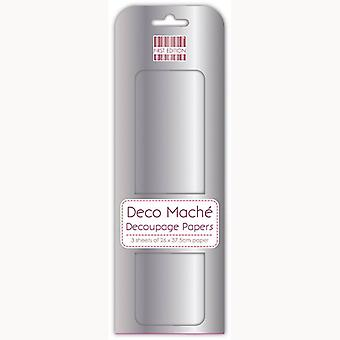 Primera Edición FSC Deco Mache - Plata Metálica