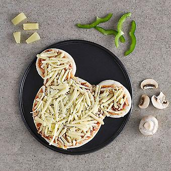 Pizza Plus Frozen Teddy Bear Cheese & Tomato Pizza 7''