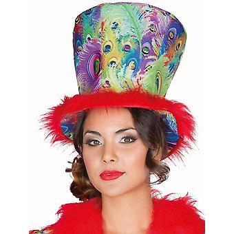 Peacock chapeau de paon chapeau de paon chapeau