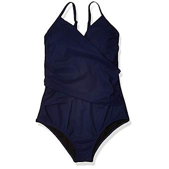 Profile by Gottex Women's Surplice One Piece Swimsuit, Tutti Frutti Sapphire,...