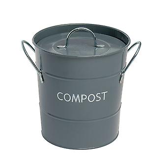 Eddingtons Grey Compost Pail