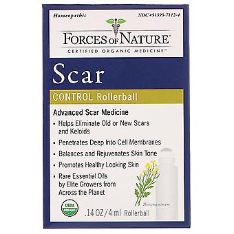 Forces of Nature, Scar Control, Rollerball, 0.14 oz (4 ml)
