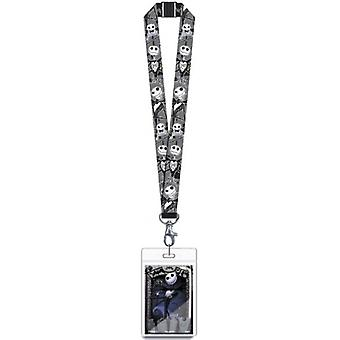 Lanyard - Nightmare Before Christmas - Jack w/ Name Tag New 26548