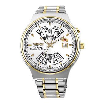 Orient Multi Year Calendário Automático FEU00000WW Relógio masculino