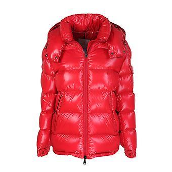 Moncler 1a57600c0064457 Women's Red Nylon Down Jacket