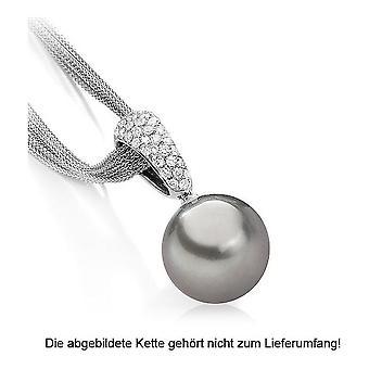 Luna-Pearls - Pendant Brilliant - White Gold 750/- Tahiti-ZP 13-14 mm 2040428