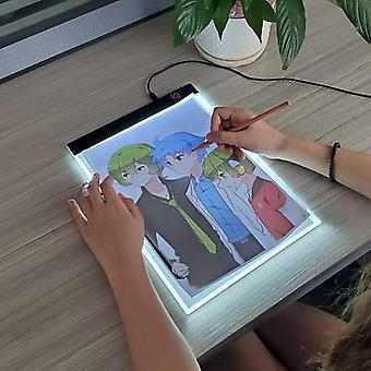 """A4 Level Dimmable Led Drawing Copy Pad Board""""s Toy - Painting Educational Grow"""