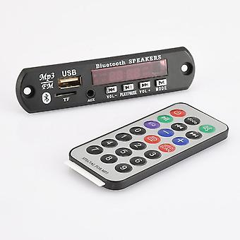 Dc 12v 5v Głośnik Bluetooth z mikrofonem Fm Kit Ręce