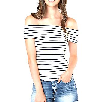 Free People | Melbourne Striped Short Sleeve Top