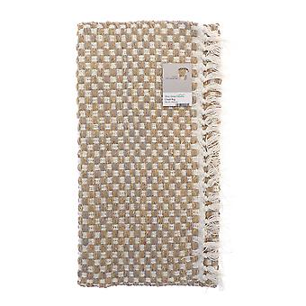 Country Club Checkered Rug, Ochre