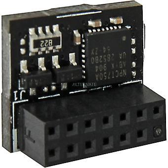 Asus (TPM-SPI) TPM Module 14-1 pin & SPI Interface Securely Stores Keys Data Passwords & Digital Certificates
