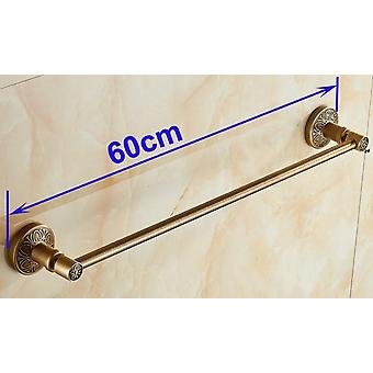 (24&60cm)single towel bar/držáky na ručníkysolid aluminiumantique mosazné povrchové úpravky montované koupelnové doplňky