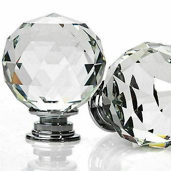 Timanttimuotoinen kristalliovinuppi, Laatikkokahva Kaapinveto, Keittiö