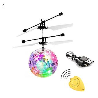 Enfants Mini Ir Senting Rc Helicopter Aircraft Flying Ball Shinning Led Toys,
