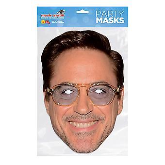 Mask-arade Robert Downey Jr Face Mask