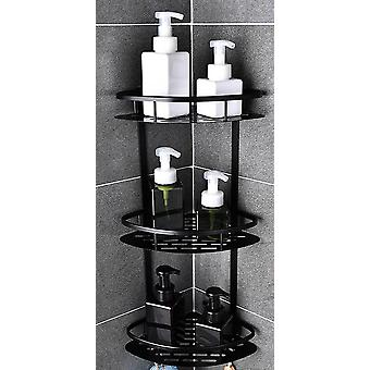 Bathroom Shelf, No Punching Shower Basket Adhesive Corner Shelves