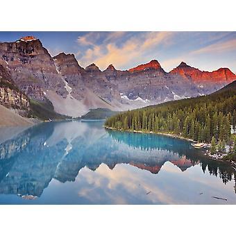 Tapet väggmålning Moraine Lake Sunrise
