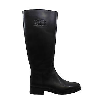 Coach Women's Shoes Raee Closed Toe Knee High Riding Boots