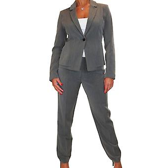 Women's Smart Formal Business Long Sleeve Jacket and Trousers Suit 10-20
