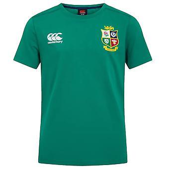 Canterbury britische & irische Löwen Rugby Baumwolle Jersey Tee | Junior | Grün | 2021