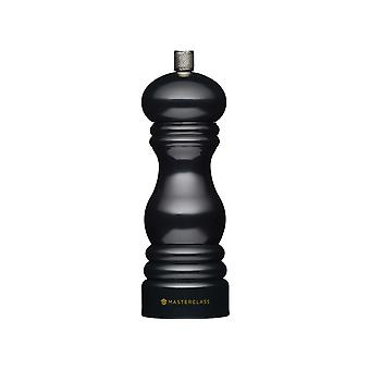 Kitchen Craft Salt/Pepper Mill Black 17cm MCSNPBLK17