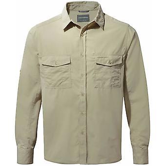 Craghoppers hombres Kiwi camisa de manga larga