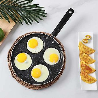 Four-hole Frying Pot Thickened Omelet Pan Non-stick Egg Pancake Steak Pan Cooking Egg Ham Pans Breakfast Maker