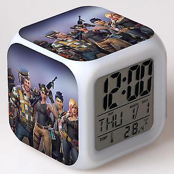 Colorful Multifunctional LED Children's Alarm Clock -Quinze dias #28