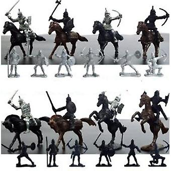 Medieval Knights Soldiers Figures Playset