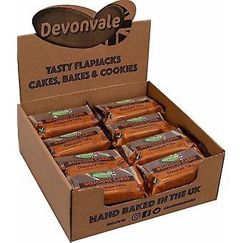 Tranches de gâteau Tiffin au chocolat Devonvale 100g x24