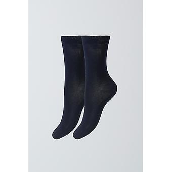 Egyptisch katoen sokken - Marine