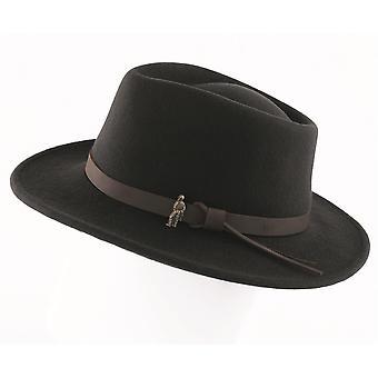 Walker and Hawkes - Unisex Boston Crushable Felt Hat