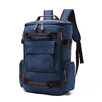 Men's  Vintage Canvas Travel Large Capacity Backpack