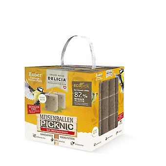 FRUNOL DELICIA® Delicia® bales Picknic with mealworms without net, 48 pieces