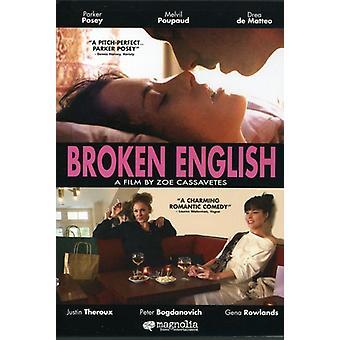 Bruten engelska [DVD] USA import