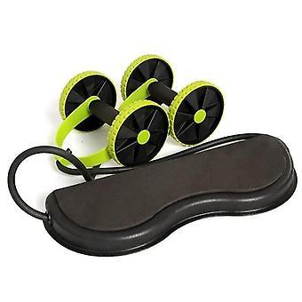 معدات اللياقة البدنية المنزلية، قوة البطن ذات العجلة المزدوجة، Abs Gym Roller