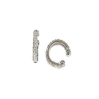 Helix Cuff Diamond Simulant Oorbel